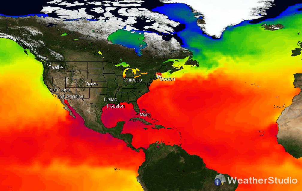 Sea Surface Temperature (SST)